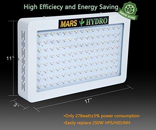 517l2djvSSL - MarsHydro Mars 600W Led Grow Light Full Spectrum ETL Certificate for Hydroponic Indoor Plants Growing
