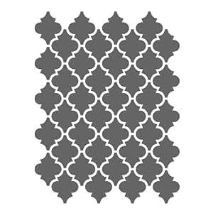 J BOUTIQUE plantillas marroquí plantillas plantilla–pequeña scale- para manualidades DIY lienzo pared decoración # 5