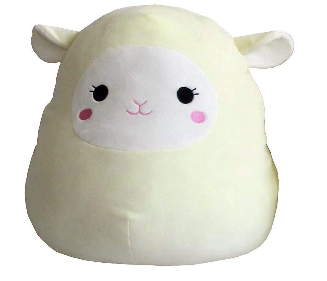 Kelly Toy Squishmallow 16 Inch Pillow Pet Plush (Lamb)