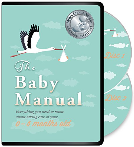 The Baby Manual DVD - Award Winning Parent Empowerment Video Course: Newborn Care, Breastfeeding, Reducing Crying, Sleep, Health, CPR, and More