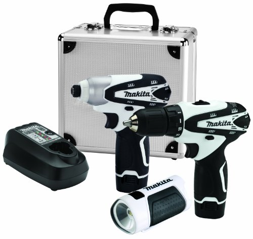 Makita LCT314W 12V Max Lithium-Ion Cordless 3-Piece Combo Kit