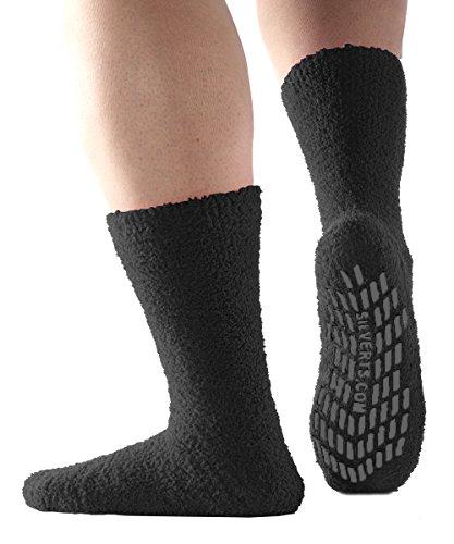 Non Skid Hospital Socks No Slip Socks Best Fuzzy Gripper