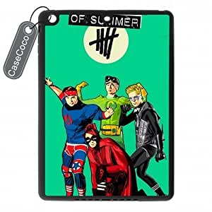 5 Seconds of Summer Superheroes Durable Rubber & Plastic Case for Ipad air - Ipad Air Case Cover