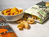 Southern Recipe Small Batch Pork Rinds | Spicy Dill Flavor | Keto Friendly | Low Carb Food | 7g Collagen Per Serving | High Protein | 0% Guilt | 4 Oz Bag