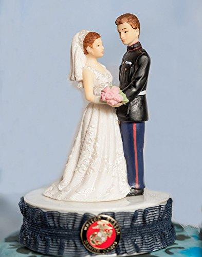 Military Marine Cake Topper