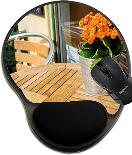 MSD Mousepad wrist protected Mouse Pads/Mat with wrist support design 20976882 Vintage old fashioned cafe chairs with table in Copenhagen - Copenhagen Vintage Up Times