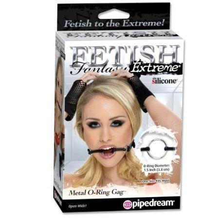Fetish Fantasy Extreme Metal O-ring Gag