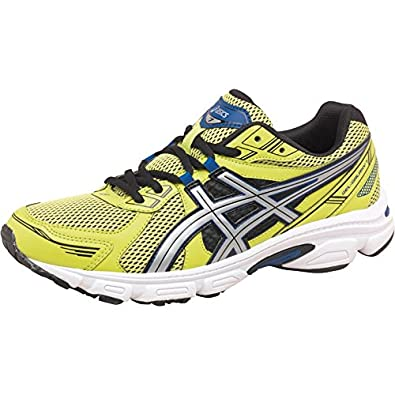 Mens Asics Gel Galaxy 7 Neutral Running Shoes Lime/Silver