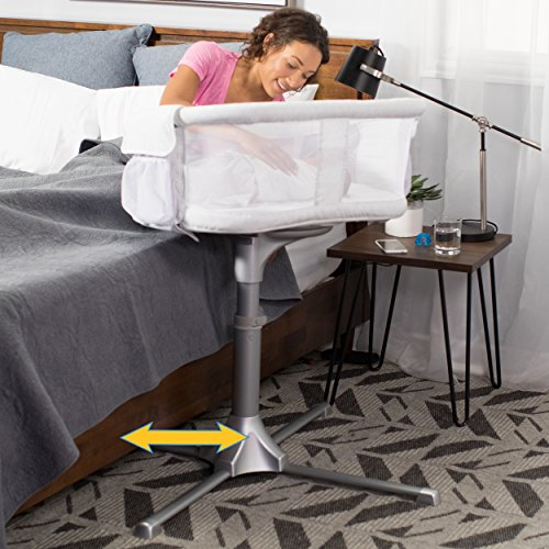 HALO Bassinest Swivel Sleeper – Silver River Stone by Halo (Image #3)