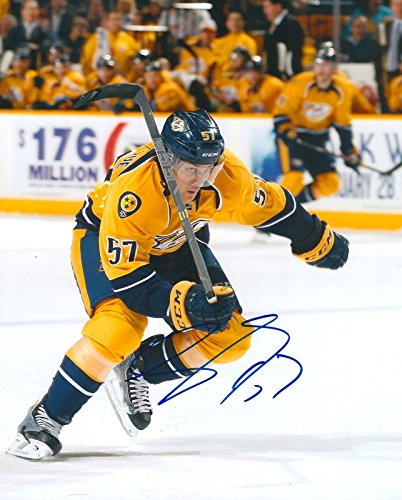 Signed Gabriel Bourque Photograph - 8X10 COA A - Autographed NHL Photos