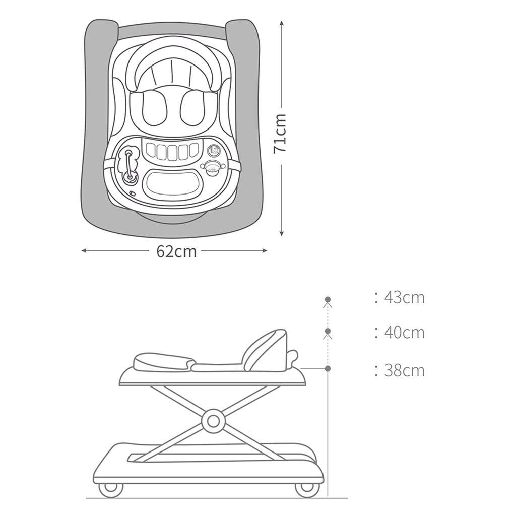 W-J-S-ZXQ Andador | Andadores Vuelco De Empuje | Bebé Varón Walker ...