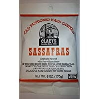 Claey's, Old Fashioned Hard Candy Sassafras, 6 Ounce Bag