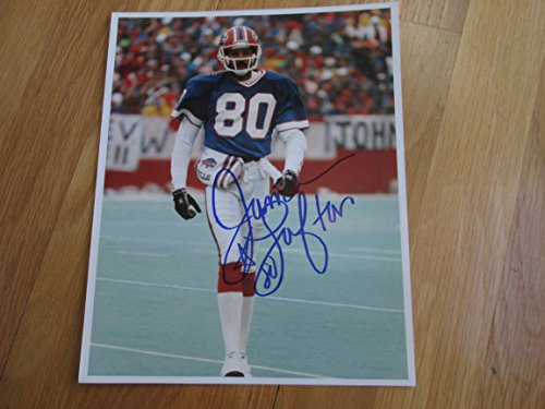 JAMES LOFTON Signed Buffalo Bills 8x10 Photo -Guaranteed Authentic - James Lofton Signed Buffalo Bills