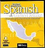 Learn to Speak & Understand Spanish Language Deluxe 8 Audio CDS