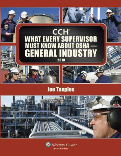 What Every Supervisor Must Know About OSHA General...