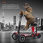 RXRENXIA-Pieghevole-Bici-Elettrica-Litio-delle-Pile-Biciclette-Lectric-Triciclo-Scooter-Leggero-E-Alluminio-Pieghevole-Bici-Esterna-Adulti-Avventura