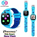 PROGRACE Kids Smartwatch with Rotatable Camera