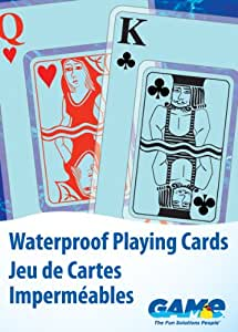 GAME 4360 Waterproof Playing Cards