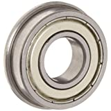 Flanged Shielded FR8ZZ 1/2 x 1-1/8 x 5/16 inch Ball Bearings VXB Brand
