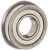 Flanged Shielded FR8ZZ 1/2 x 1-1/8 x 5/16 inch Ball Bearings VXB Brand