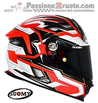 Suomy kssr0011.5 Casco Moto, Naranja, ...