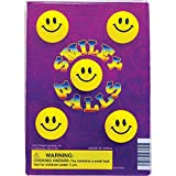 1' SMILEY BALLS - 250 Count (Self Vending) - With Free Display
