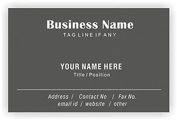 Regelmäßige Design Personalisierte Visitenkarten