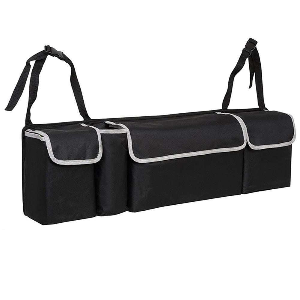 MYLJX Car Trunk Organizer Backseat Storage Bag High Capacity Multi-use Oxford Cloth Car Seat Back Organizers Interior Accessories
