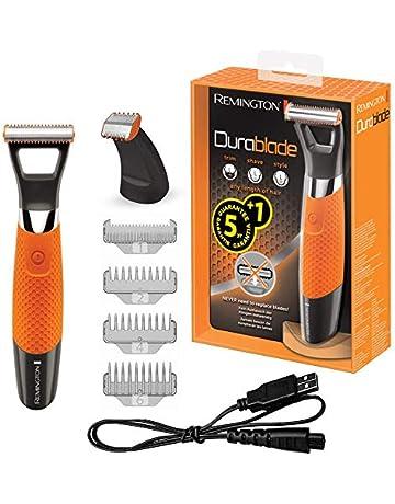 Remington MB070 DurabladePro - Máquina de afeitar inalámbrica, peines para barba corta de 1,