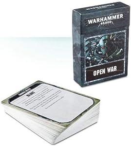 Games Workshop 60220199011 Warhammer 40000 Open War Cards