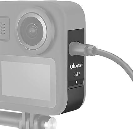 Aluminium Legierung Akkudeckel Für Gopro Max Typ C Kamera