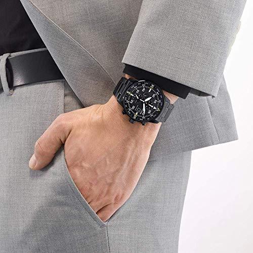Citizen Reloj Cronógrafo para Hombre de Cuarzo con Correa en Acero Inoxidable CA0695-84E