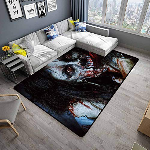Zombie,Anti-Slip Cooking Kitchen Carpets 60