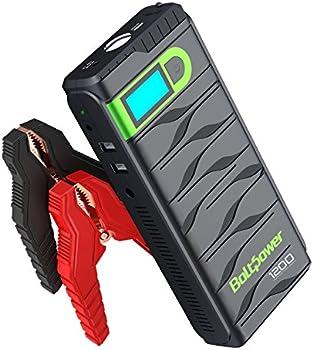 Bolt Power N02 1200 Amp Peak 12-Volt Car Battery Jump Starter