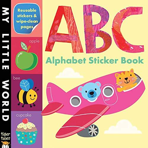 ABC Alphabet Sticker Book (My Little World)