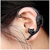 Ularmo Popular Gothic Punk Temptation Ear Cuff Wrap Clip Cool Earring