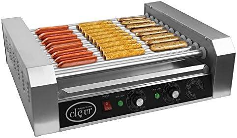 Clevr Commercial Hotdog Roller Machine