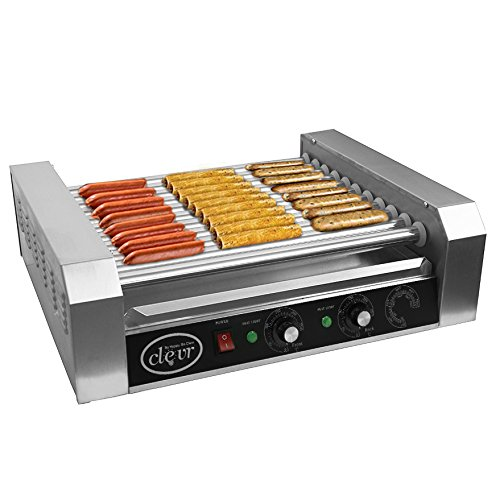 Clevr Commercial Hotdog Roller Machine