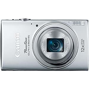 Canon PowerShot ELPH 340 HS 16MP Digital Camera (Silver)