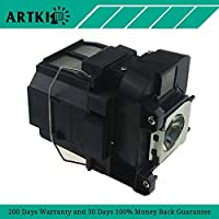 ELPLP77 / V13H010L77 Replacement Lamp ELPLP77 for EPSON PowerLite 1975W 1980WU 1985WU 4650 4750W 4855WU G5910/ HC 1440/ PC 1985