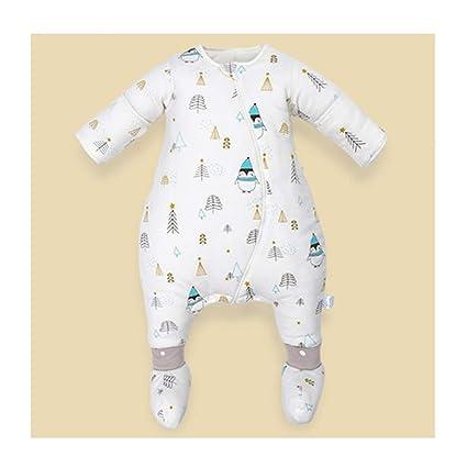 Saco de dormir para niños Wolaoma Saco de Dormir de algodón para bebés Saco de Dormir