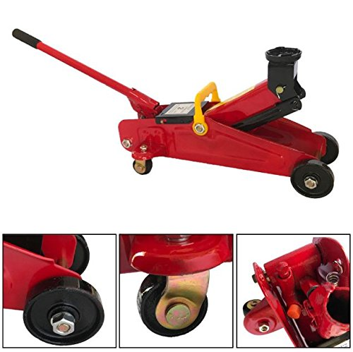 Cypressshop Small Portable Jack Stand2 Tons Vehicle Lifting Tool Auto Floor Hydraulic Car Garage Lift Hand Tools