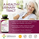LifeSeasons - Urinari-X - Natural Urinary Tract and Yeast Support Supplement - Contains Uva Ursi, Cranberry and D-Mannose - 90 Capsules