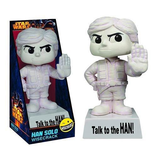 Han Solo: Talk to the HAN! - Funko Wisecracks Bobble-Head Figure