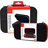 VORI Case for Nintendo Switch - Deluxe Travel Hard Console and Carrying Protective Game Pouch Shell Accessories Cover Carry Portable, Black(Pack of 2)