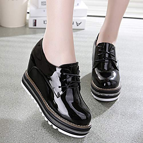 Shoes Bottom Sports High Spring Thirty Women'S Women Casual Nine Thick KPHY Black Heel Casual Shoes T0afxHnX