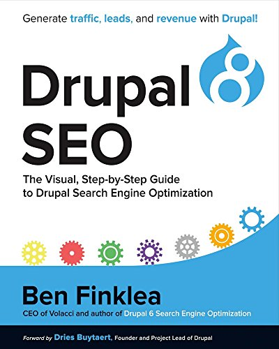 Product picture for Drupal 8 SEO: The Visual, Step-By-Step Guide to Drupal Search Engine Optimization by Ben Finklea