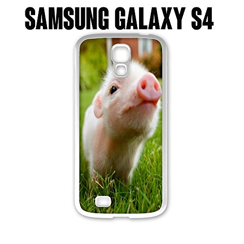 Phone Case Cute Piglet Baby Pig for Samsung Galaxy Note 4 Rubber Black (Ships from CA) (Pig Note Baby Case 4)