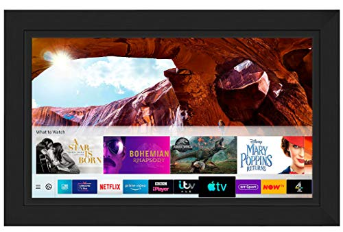 Framed Mirror TV with Samsung 8 Series 4K Ultra HD HDR Smart LED TV – Edge Frame (55 inch, Black)