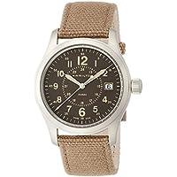 Hamilton Khaki Field Brown Dial Nylon Strap Men's Watch H68201993